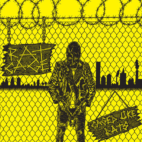 "RAT CAGE ""Caged Like Rats"" 7"""