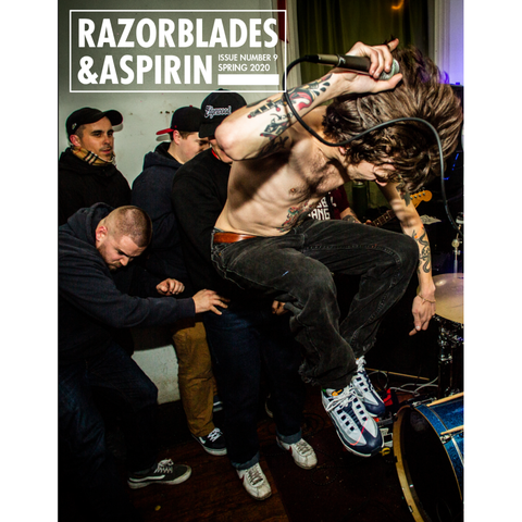 RAZORBLADES AND ASPRIN Issue #9 Zine