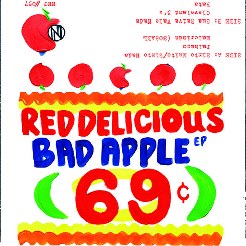 "RED DELICIOUS ""Bad Apple"" Tape"