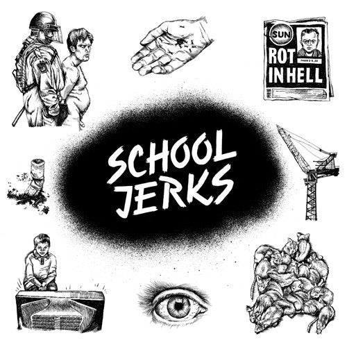"SCHOOL JERKS ""S/T"" LP"