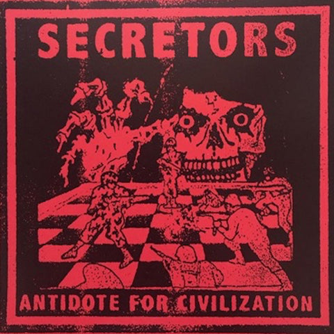 "SECRETORS ""Antidote for Civilization"" 7"" Flexi"