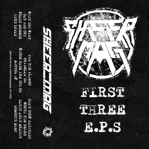 "SHEER MAG ""First Three Eps"" Tape"