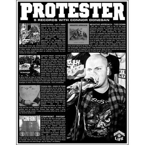 PROTESTER: 5 Records with Connor Donegan Zine