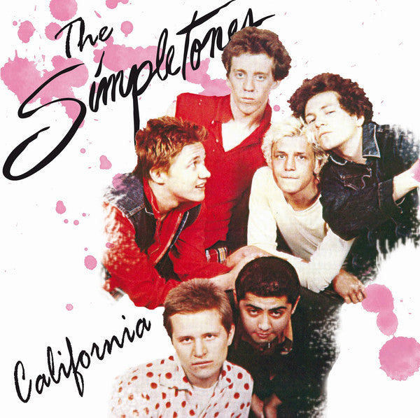 "SIMPLETONES, THE ""California"" LP"