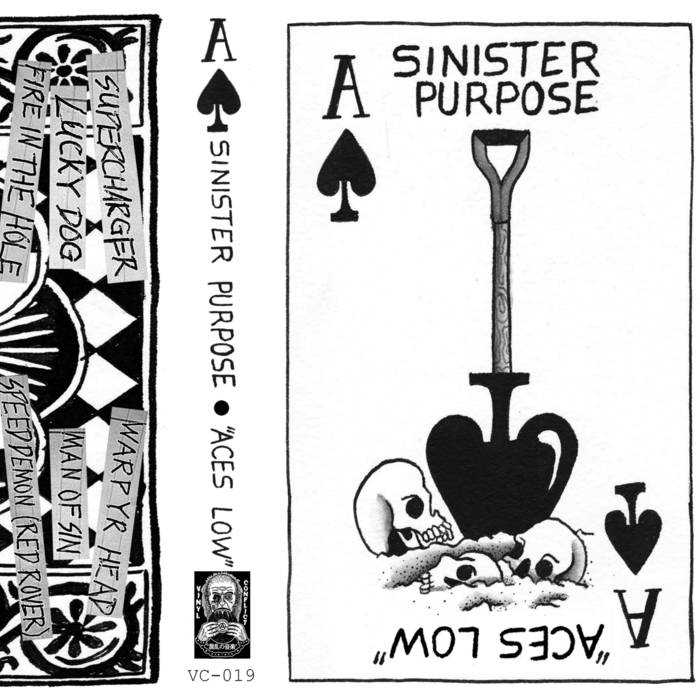 "SINISTER PURPOSE ""Aces Low"" Demo Tape"