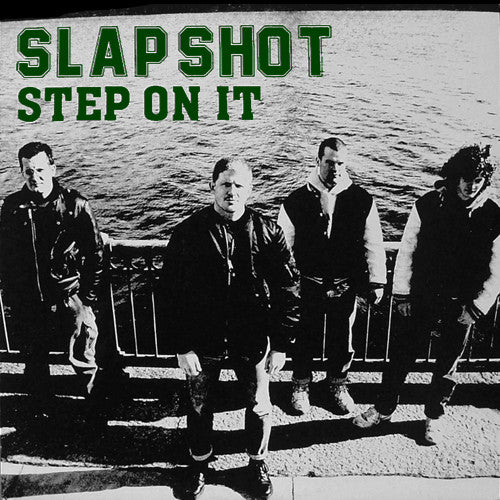 "SLAPSHOT ""Step On It"" LP"