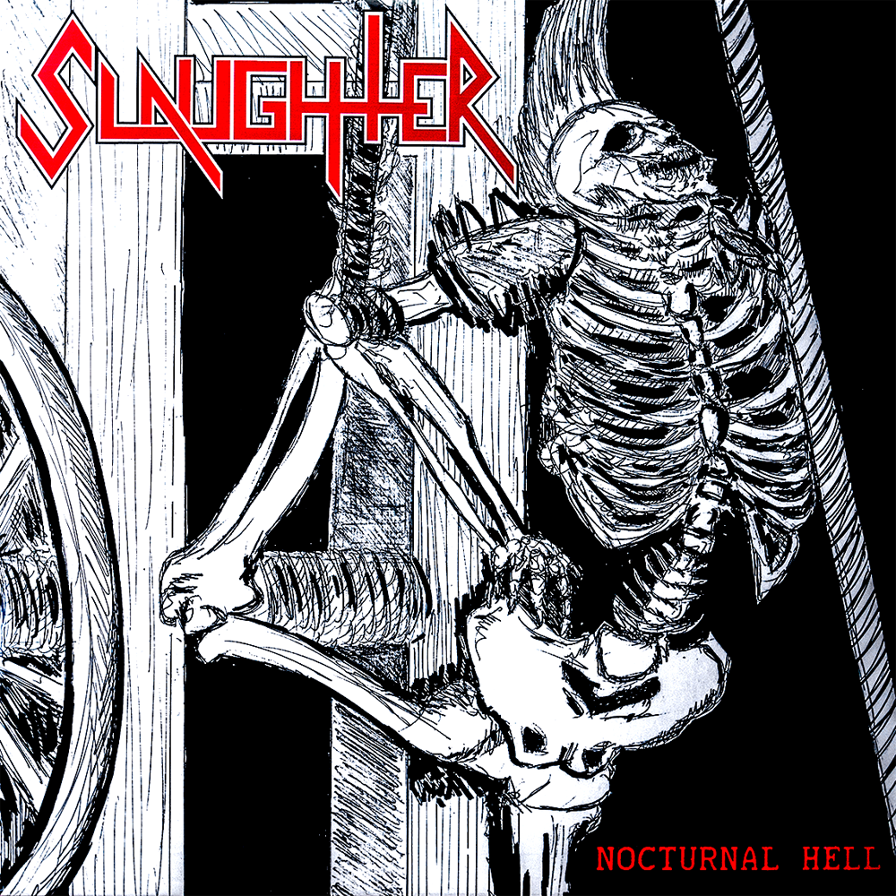 "SLAUGHTER ""Nocturnal Hell"" 7"""