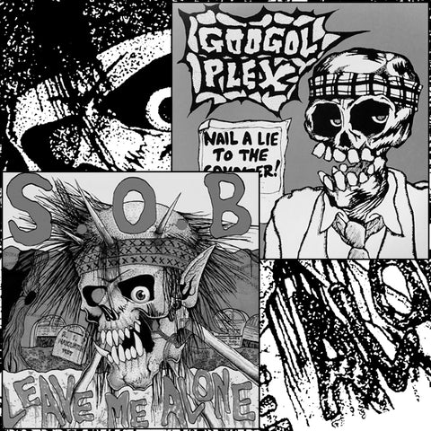 GOOGOL PLEX / S.O.B. Split LP