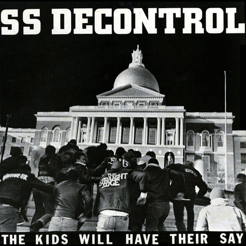 "SS DECONTROL ""The Kids Will Have Their Say"" LP"