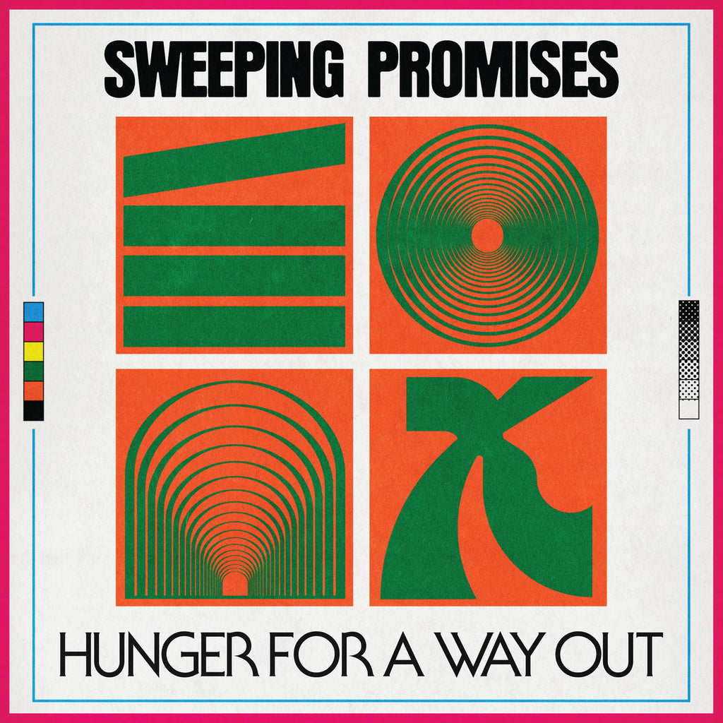 "SWEEPING PROMISES ""Hunger for a Way Out"" LP"
