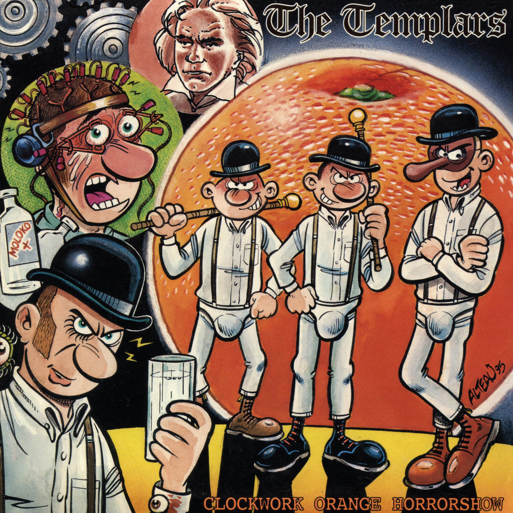 "TEMPLARS ""Clockwork Orange Horror Show"" LP"