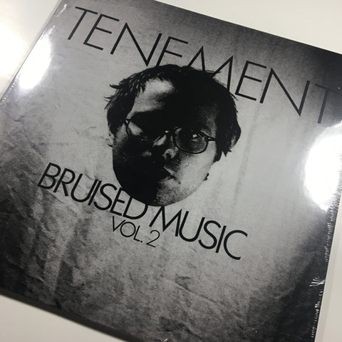 "STOCK COPIES: COKE BOTTLE CLEAR TENEMENT ""Bruised Music Vol. 2"" LP (OOP)"