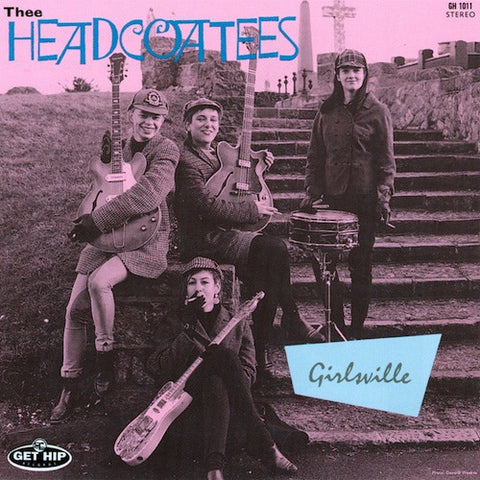 "HEADCOATEES, THEE ""Girlsville"" LP"