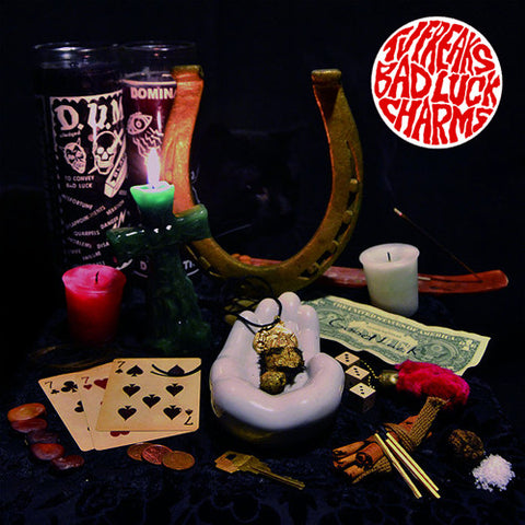"TV FREAKS ""Bad Luck Charms"" LP"