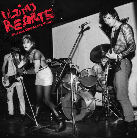 "ULTIMO RESORTE ""La Larga Sombra Del Punk"" LP"