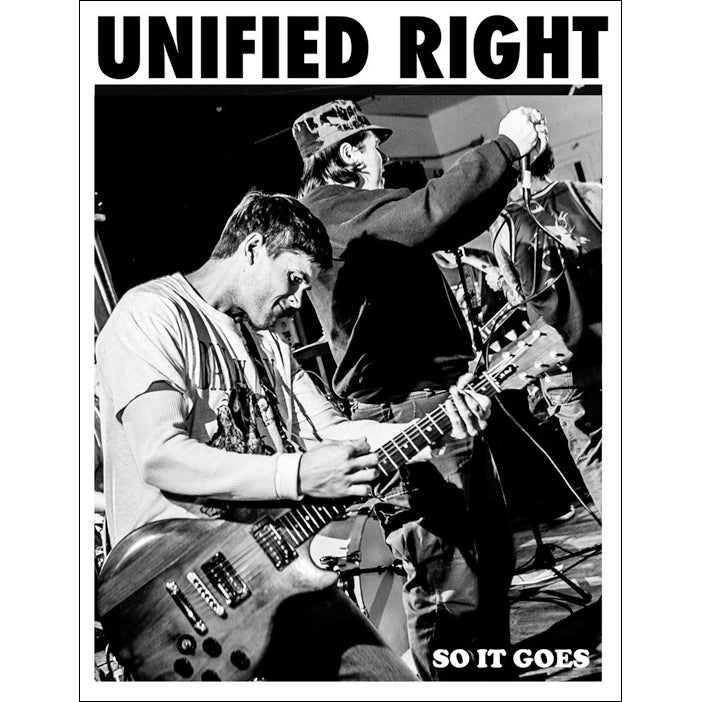 UNIFIED RIGHT: So it Goes Zine