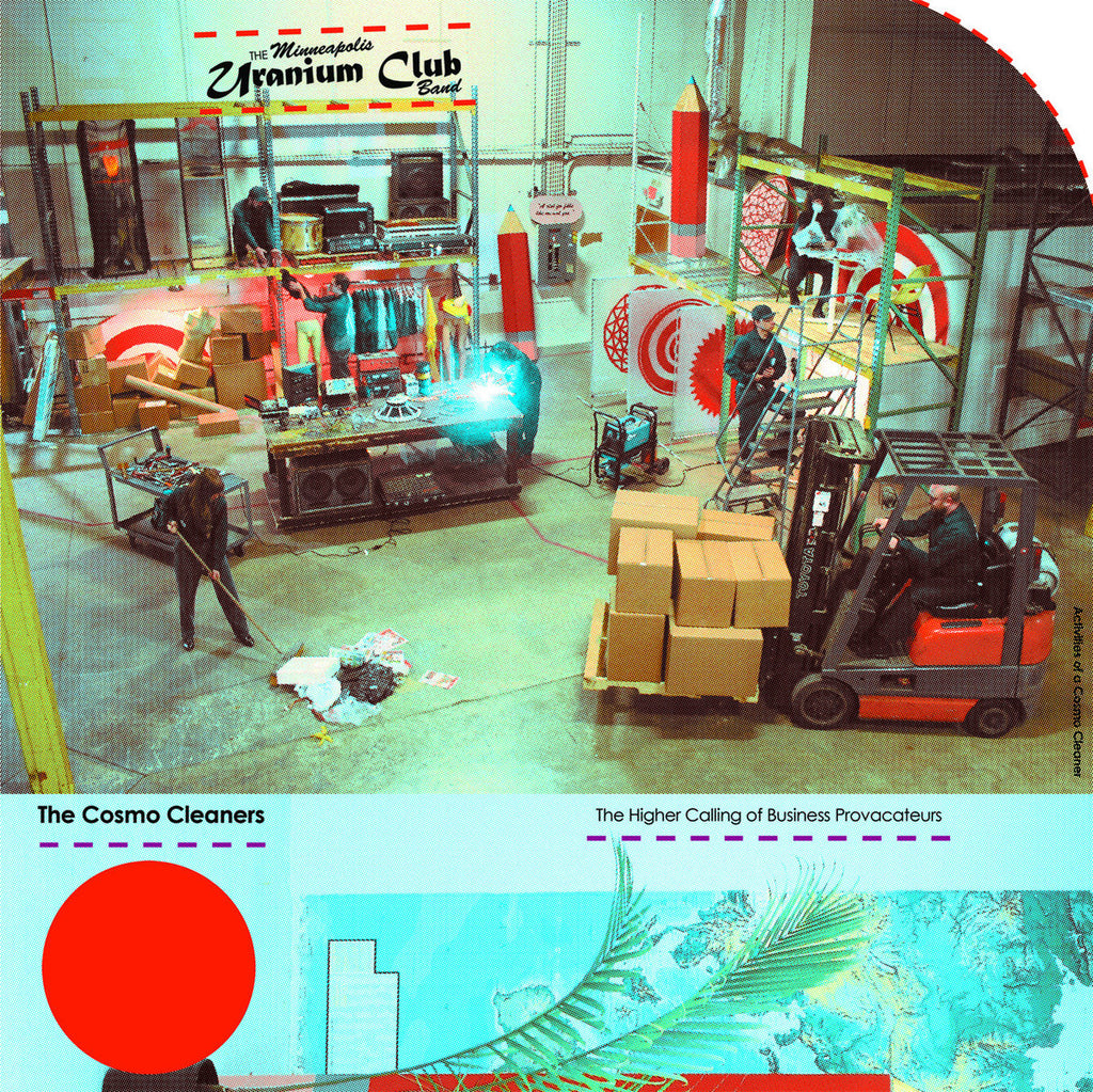 "URANIUM CLUB ""The Cosmo Cleaners"" LP"