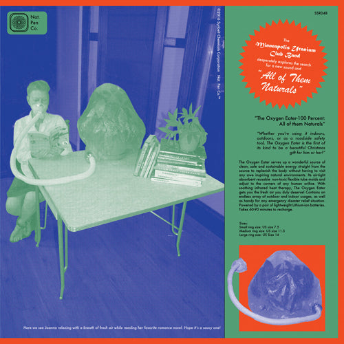 "URANIUM CLUB ""All of them Naturals"" (UK Press) LP"