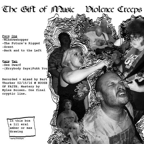 "VIOLENCE CREEPS ""Gift of Music"" LP"
