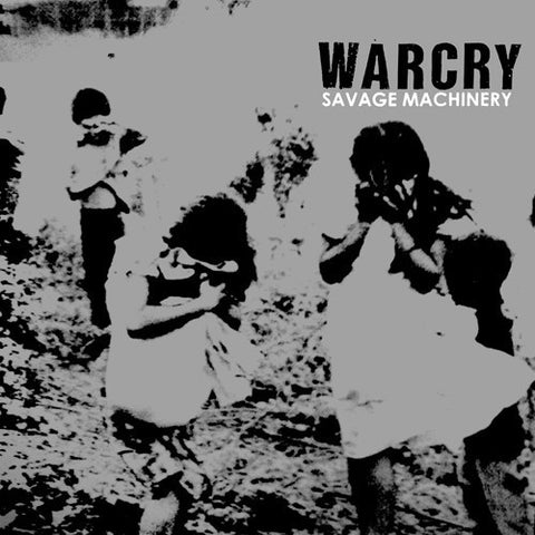 "WARCRY ""Savage Machinery (Euro Press)"" LP"