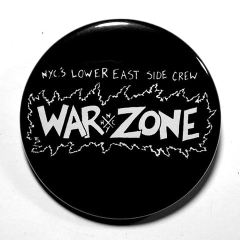 "Warzone ""Lower East Side Crew"" (1"", 1.25"", or 2.25"") Pin"