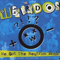 "WEIRDOS  ""WEIRD WORLD VOL. 2"" LP"