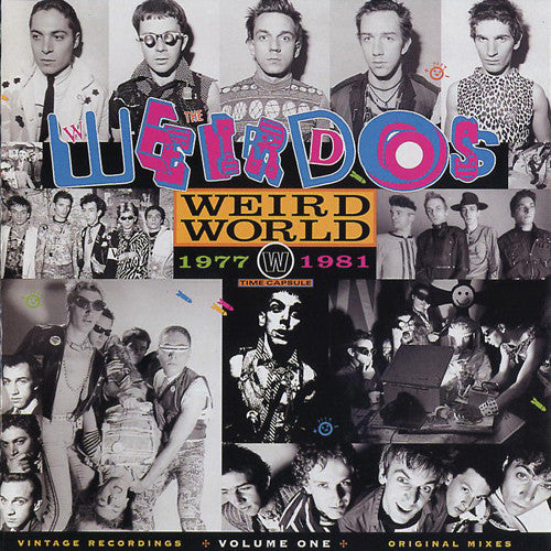 "WEIRDOS ""Weird World Vol. 1"" LP"