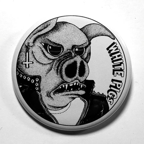 "White Pigs ""EP"" (1"", 1.25"", or 2.25"") Pin"