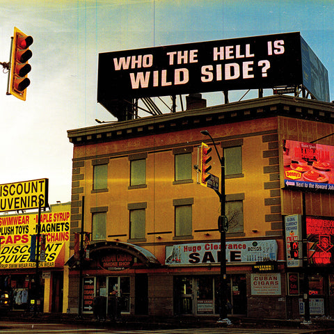 "WILD SIDE ""Who the Hell is Wild Side?"" LP"