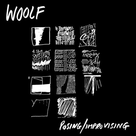 "WOOLF ""Posing/Improvising"" LP"