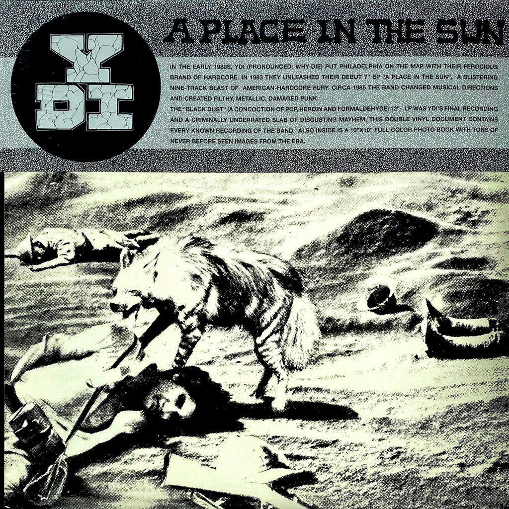 "YDI ""A Place in the Sun / Black Dust"" 2xLP"