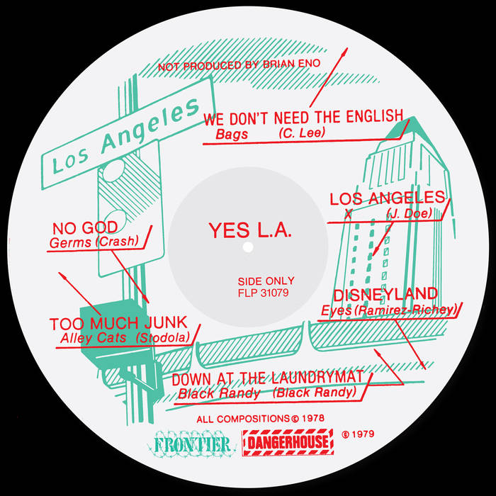 "V/A ""Yes L.A."" Compilation LP"
