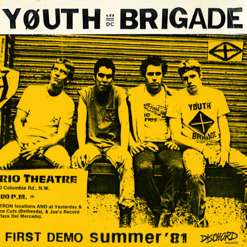 "YOUTH BRIGADE ""Complete First Demo"" 7"""