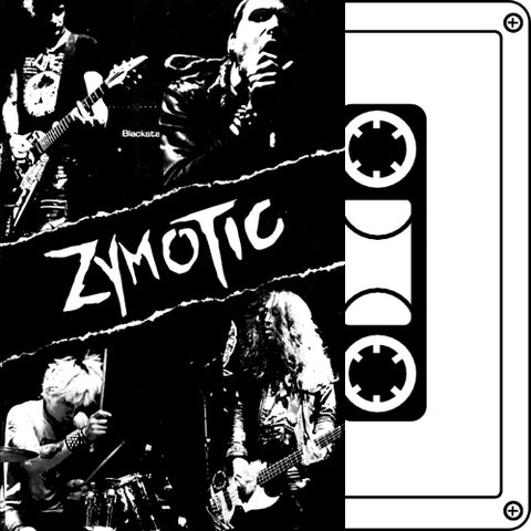 "ZYMOTIC ""8 Tracks"" Demo Tape"