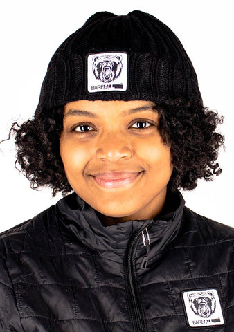 Beanie Hat (Black) - Bare All Clothing
