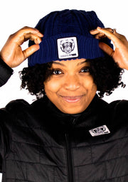 Beanie Hat (Navy) - Bare All Clothing