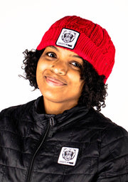 Beanie Hat (Red) - Bare All Clothing