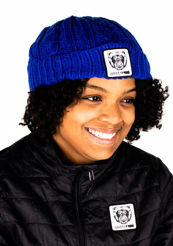 Beanie Hat (Blue) - Bare All Clothing