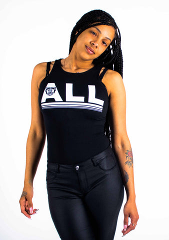 Bare All Bodysuit (Black) - Bare All Clothing