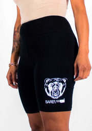 Bare All Biker Shorts (Black) - Bare All Clothing