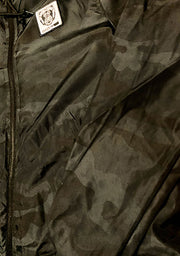 Black Camo Windbreaker - Bare All Clothing