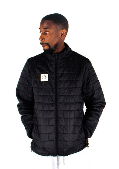 Bare All Puffer Jacket (Black) - Bare All Clothing
