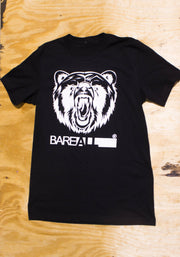 Logo T-Shirt (Black) - Bare All Clothing