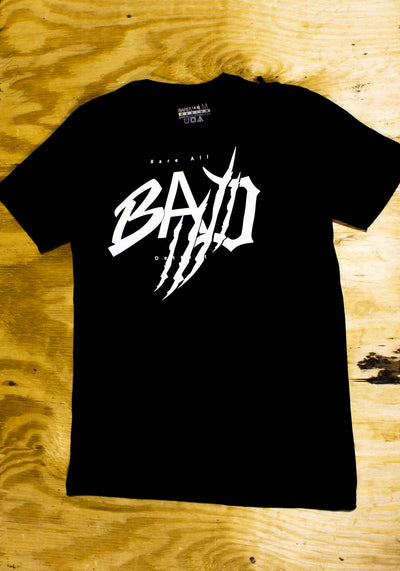 B.A.D. (Black)-T Shirt - Bare All Clothing