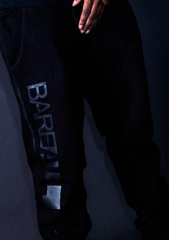 Bare All Joggers (Black/Black) - Bare All Clothing