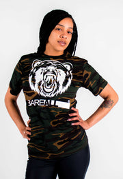 Bare All Camo T-Shirt (White/Camo) - Bare All Clothing