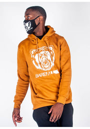 Bare All Hoodie (Caramel Mocha/White) - Bare All Clothing