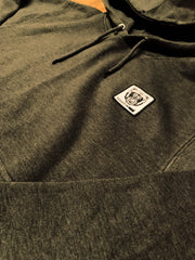 Bare All Essential Patch Hoodie (Dark Grey) - Bare All Clothing