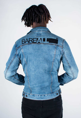 Bare All Denim Jacket - Bare All Clothing