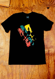 The Celebration (Black)-T Shirt - Bare All Clothing